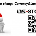 How to change Currency and Language on os-store?