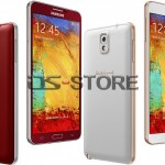 Three new colors options of its Samsung Galaxy Note 3 have been launched
