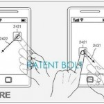 Samsung was awarded a patent for a transparent screen with front and back touch capabilities