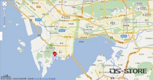shekou sea world map