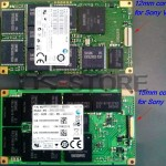 What is different connector of LIF SSD with sony laptop VPC-Z1 and VPC-Z2