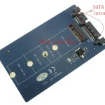 Do you know how to SATA interface and PCI-E interface is defined?