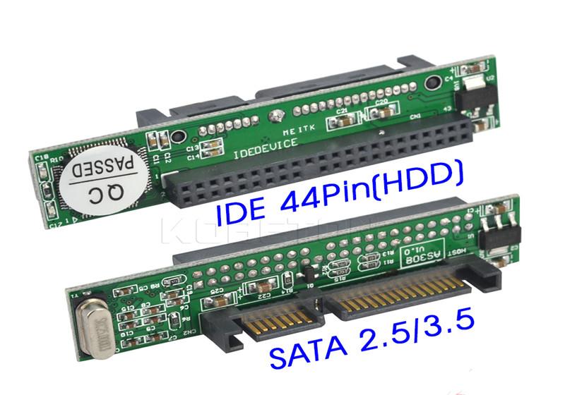 IDE-ટુ-સાટા-2-5 ઇંચ IDE સ્ત્રી 40-પીન-પોર્ટ ટુ 2-5-SATA સ્ત્રી