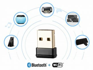 Bluetooth-wifi-kort sett upp
