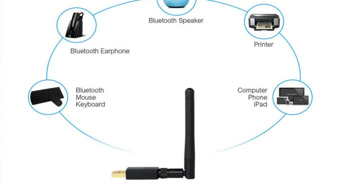 USB_WLAN-Bluetooth-adapter